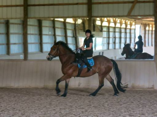 Love this picture even though it shows how not to sit in a side saddle