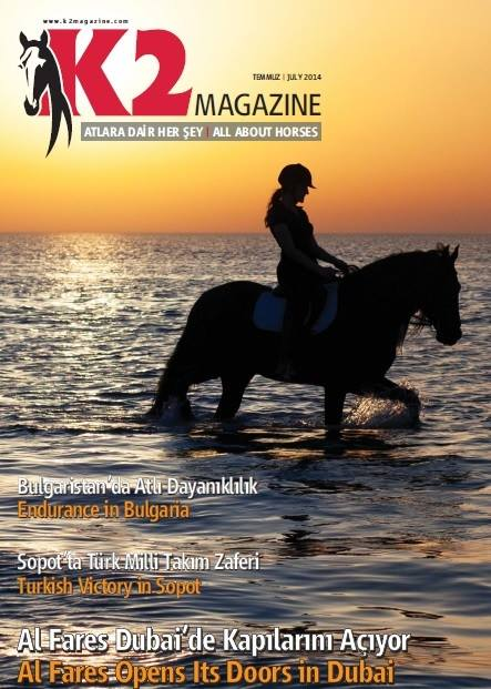 K2 magazine, Turkey, July'14  (Picture of me riding Romeo was taken in Bahrain)